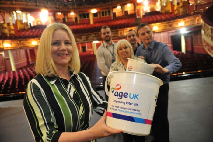 The Sunderland Empire has chosen Age UK Sunderland as their nominated Charity of the Year!