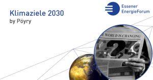Workshop: Klimaziele 2030 – Wie können wir sie erreichen? (Pöyry)