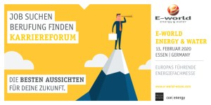 Das Karriereforum der E-world energy & water