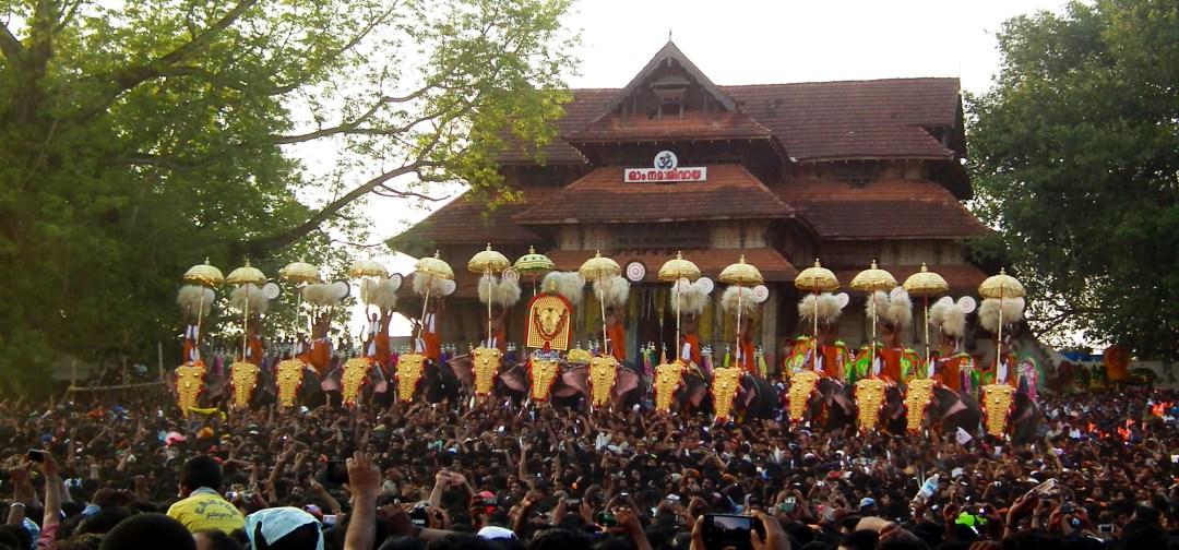 Thrissur Pooram criticism
