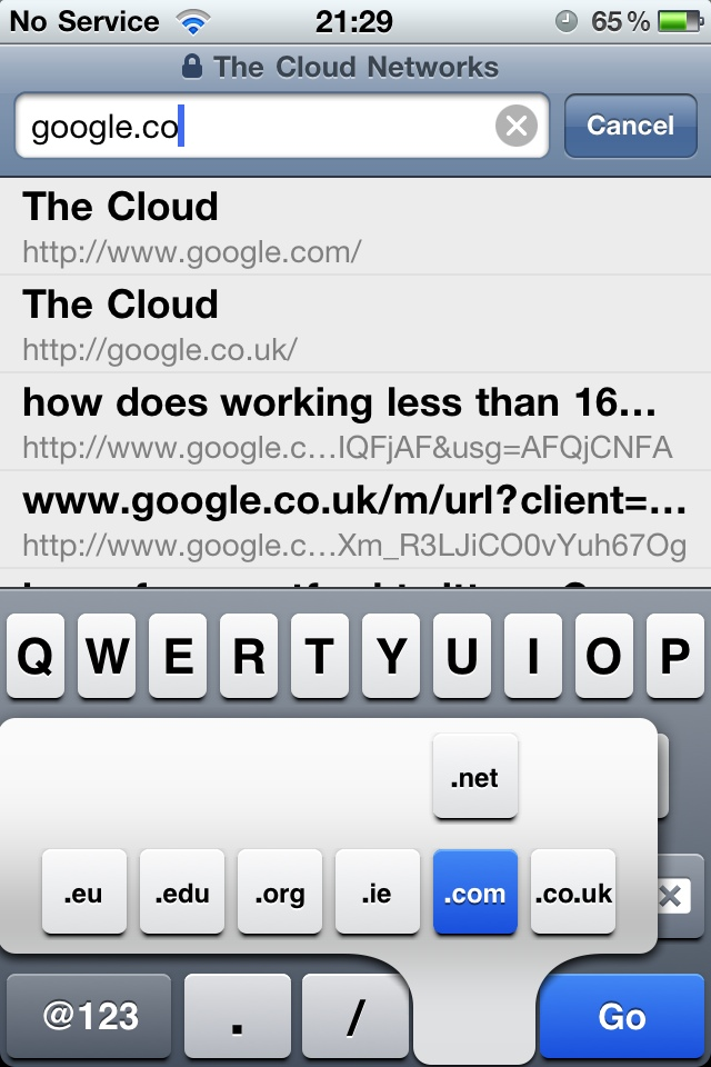 20110518 213027 Auto complete domain extensions on your iPhone