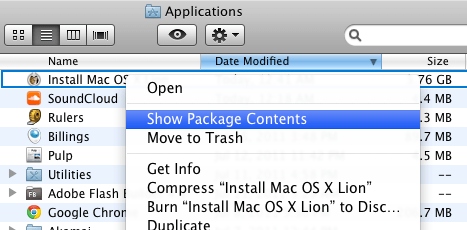 Lion Install 2 Installing OSX Lion from a DVD or USB stick