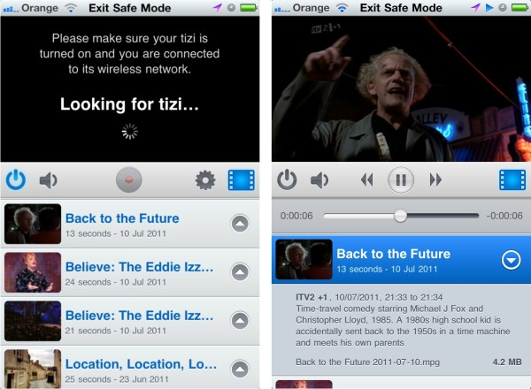 Tizi Watching Recordings Review : Equinux tizi Mobile Tv For iPad and iPhone Review (HANDS ON)