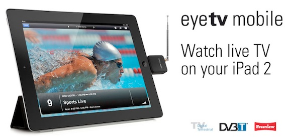 elgato eyetv mobile EyeTV Mobile, Watch live tv on your iPad 2