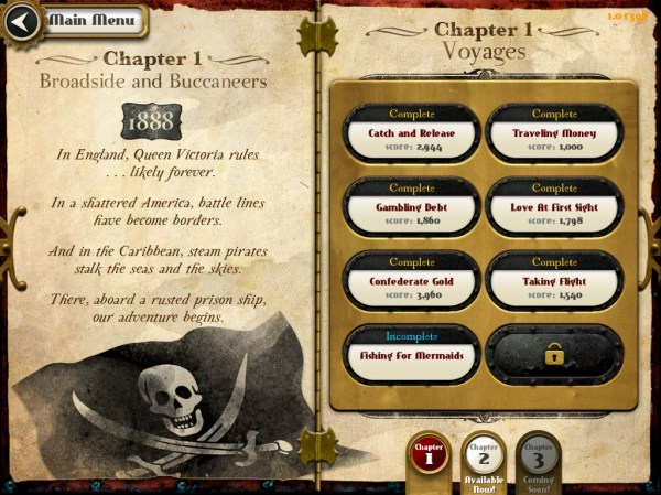 Crimson Steam Pirates Chapters AOTD : Crimson Steam Pirates
