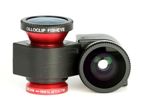 Olloclip Olloclip : macro, wide angle and fish eye lense all in one.
