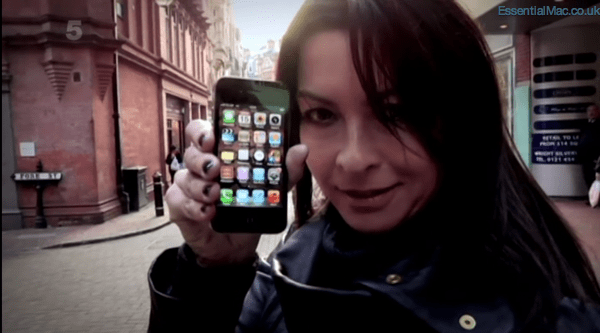 Gadget Show Suzi Perry iPhone 4s Test  Gadget Show iPhone 4s vs Convergance Tech Special