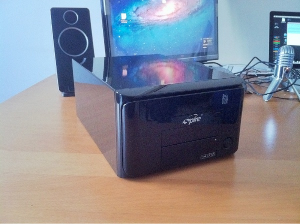 Spire PowerCube Unboxed Spire PowerCube ITX Case SPM210B
