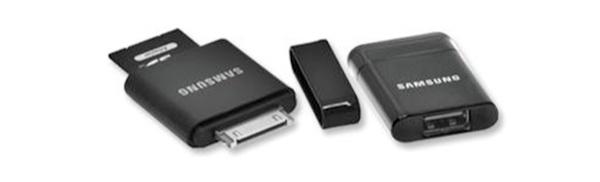 Galaxy Tab Kit Galaxy Tab USB & SD Connection Kit Looks Strangely Like Apple Kit.