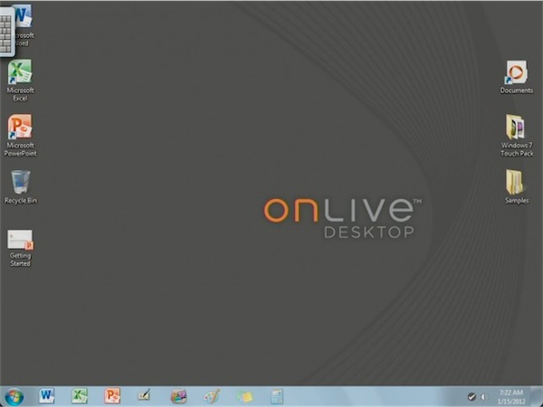 onlive windows 7 on ipad Windows 7 On Your iPad thanks to OnLive