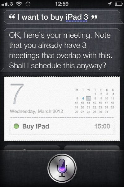 20120307 130027 Siri knows the iPad 3 release date and time
