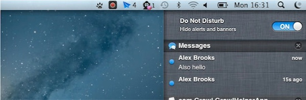 Mountain Lion Do Not Disturb Mountain Lion Do Not Disturb Feature = Desktop Peace