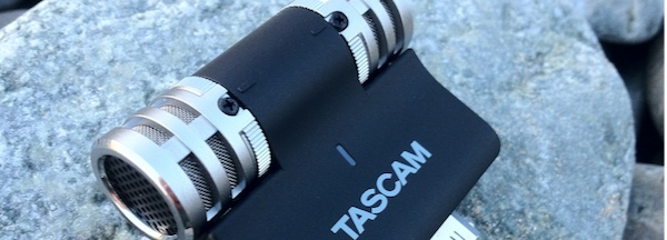 Tascam IM2 First Tascam iM2 Portable Condensor Mic, First look and Sample Sounds