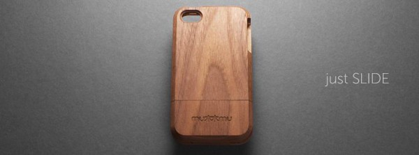 mu mu SLIDE THIN 600x223 mu mu set to release the SLIDE THIN, a gorgeous hardwood iPhone case