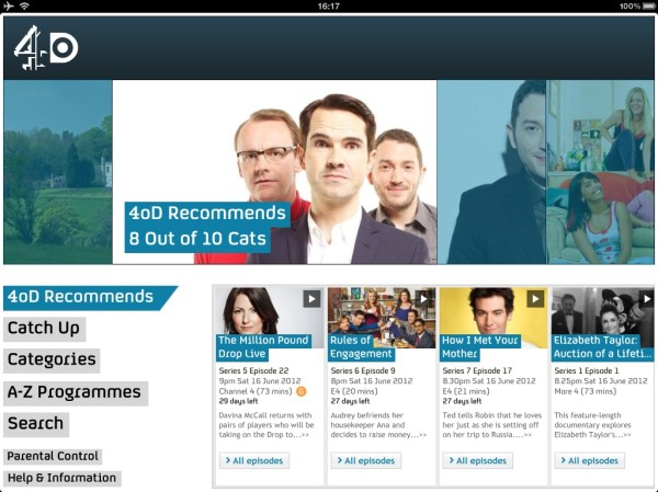 4od TV Catchup How To Watch TV On Your iPhone or iPad