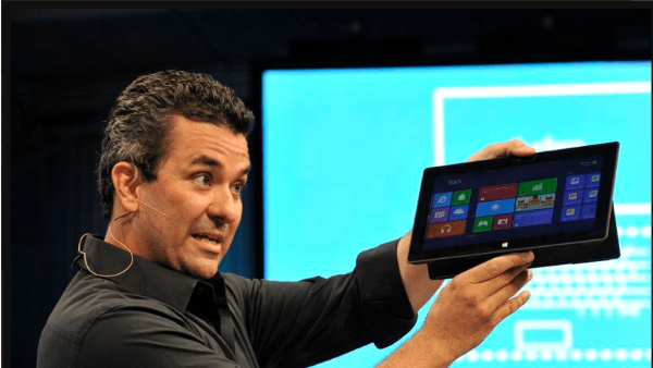 Microsoft Tablet1 Microsoft Announce New Microsoft Surface Tablet : Specifications