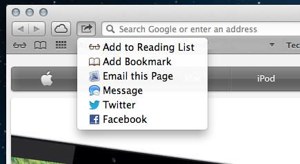 Mountain Lion Facebook Sharing What Does OS X Mountain Lion Facebook Integration Look Like?