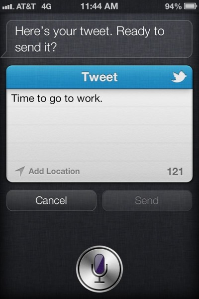 ios 6 beta 2 Siri TweetSheet iOS 6 Beta 2 Released : Heres Whats New.
