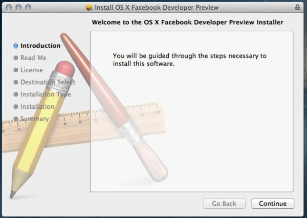 osx mountain lion facebook install 600x425 What Does OS X Mountain Lion Facebook Integration Look Like?