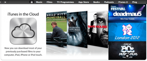 iTunes in the Cloud UK 600x252 Apple rolls out iTunes movies in the Cloud to UK, Australia, Canada, more