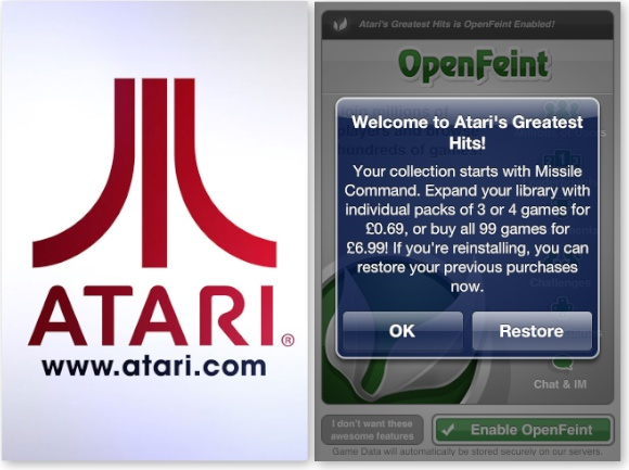 Atari Greatest Hits Offer Atari's Greatest Hits. Unlock all 99 Games. Today Only