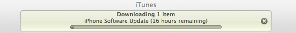 iOS6 Download Wait time iOS 6 Ready For Updating : Just In Case You Didnt Already Know...