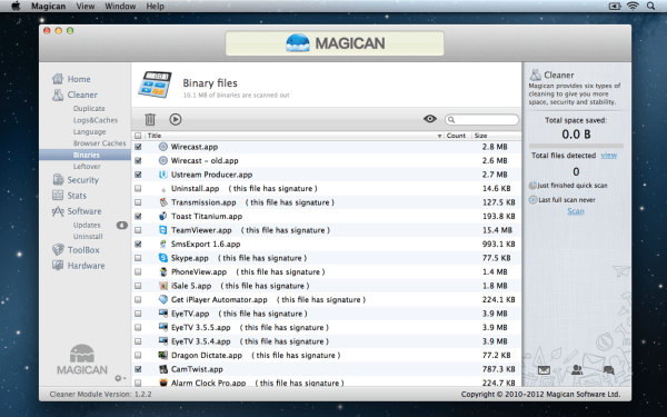 Magican Binary Files 600x375 Magican 1.3.1 Review : Helping Clean Your Mac & Protect Against Mac Trojans