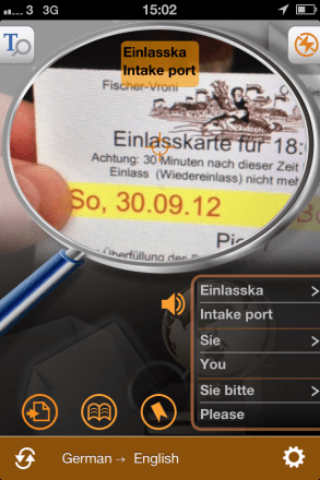 worldictionary scan 293x440 Worldictionary iPhone App Review   Instant Translation And Search