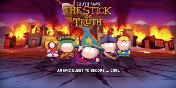 South Park The Stick Of Truth 600x302 Epic New South Park: The Stick Of Truth trailer
