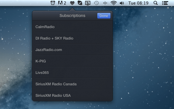 Radium 3 Subscriptions 600x379 Radium 3 : The Best Internet Radio Player For Mac