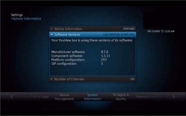 wpid SWDecember2012 YouView Software Update December 2012   YouView App Released