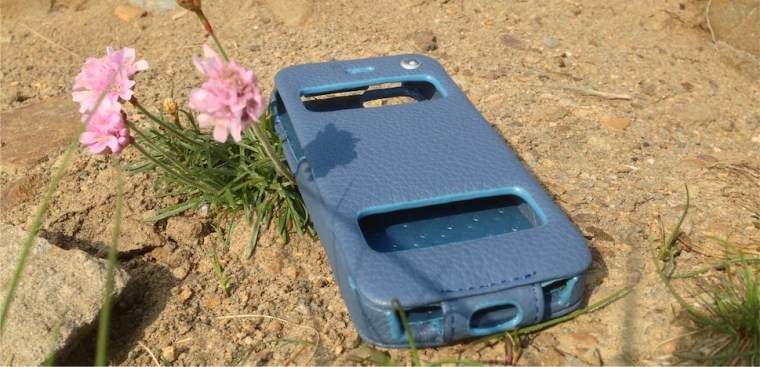 Noreve Flat Case Noreve Exceptional Selection Indigo iPhone 5 Case