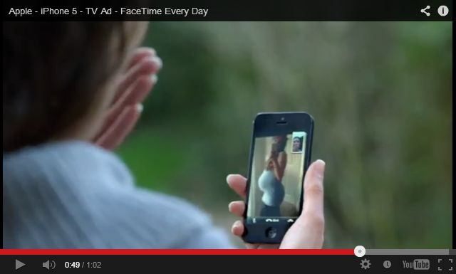Apple TV Ad Factime Every Day Apple TV Ad : Facetime Every Day