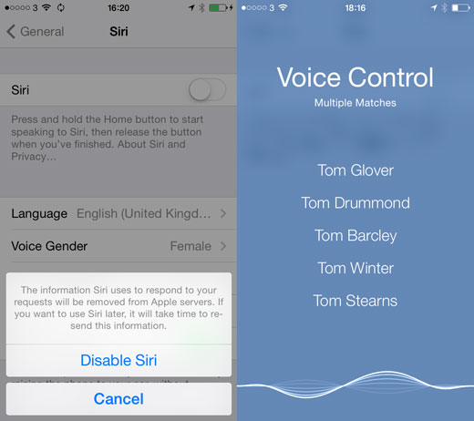 Voice Control How To Get Back Siris Old Voices in iOS 7.1