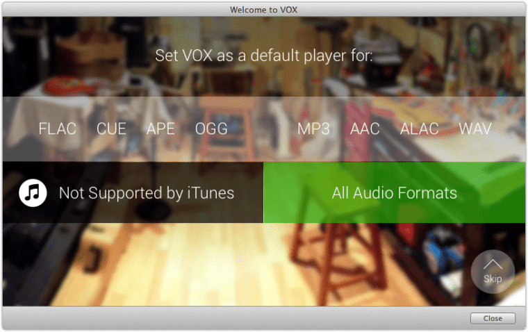Welcome To Vox 2 Vox HD Audio Player. WinAmp For The Mac