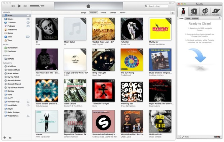 TuneUP Hero Image TuneUp For Mac Review : Organsise, iDentify and DeDupe Your iTunes Library
