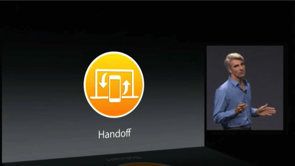 Yosemite Handoff WWDC 2014: Continuity And Handoff, Pick Up Where You Left Off On Any iOS Device