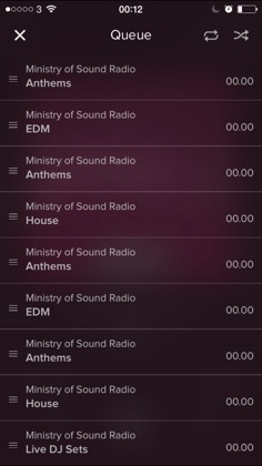 Ministry of Sound Radio app Review. Stylishly Executed MoS Radio Player