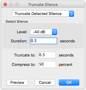 Audacity Truncate Silence How to make your podcasts sound better with GarageBand
