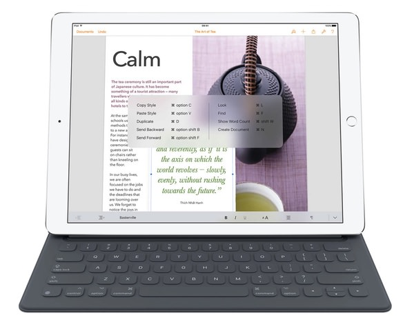 Apple Smart iPad Pro Keyboard 8 Keyboard Cases Ready For the iPad Pro