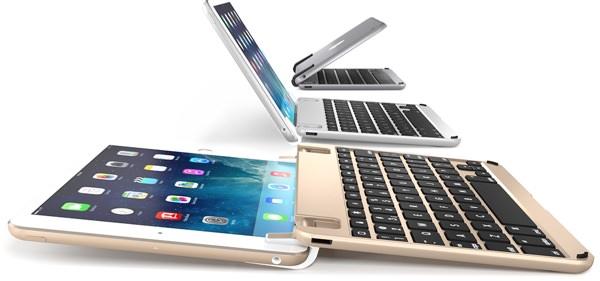 BrydeKeyboards Brydge Mini flat Brydge Keyboards Release BrydgeMini. A Stunning Aluminium Keyboard for The iPad Mini