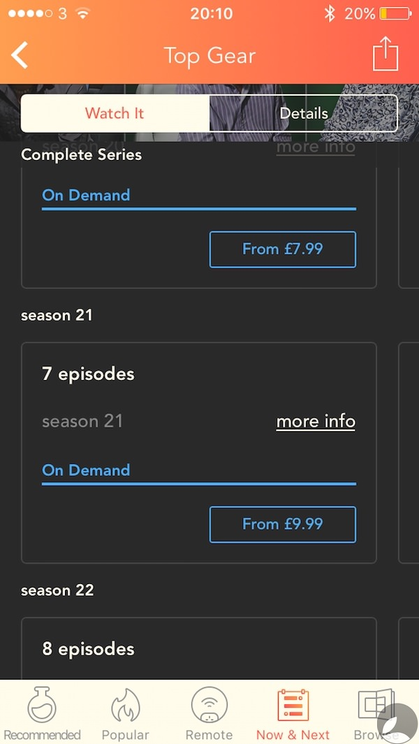 Utelly Top Gear Season 21 Pricing 1 Utelly, A Tv Guide for TV and Online Services.