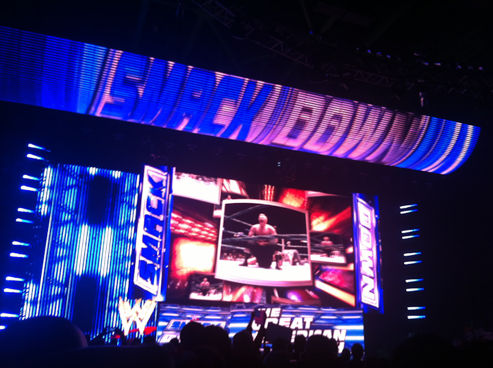WWE SmackDown current stage The Latest Wave of Branded iOS Apps