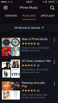 Amazon Prime Radio. Adding More Value to Primes offering