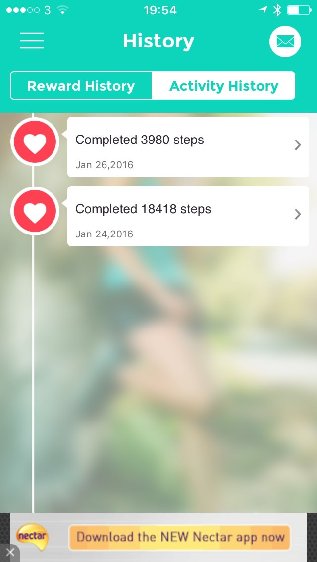 Bounts Activity History Bounts Review : Get Paid For Walking