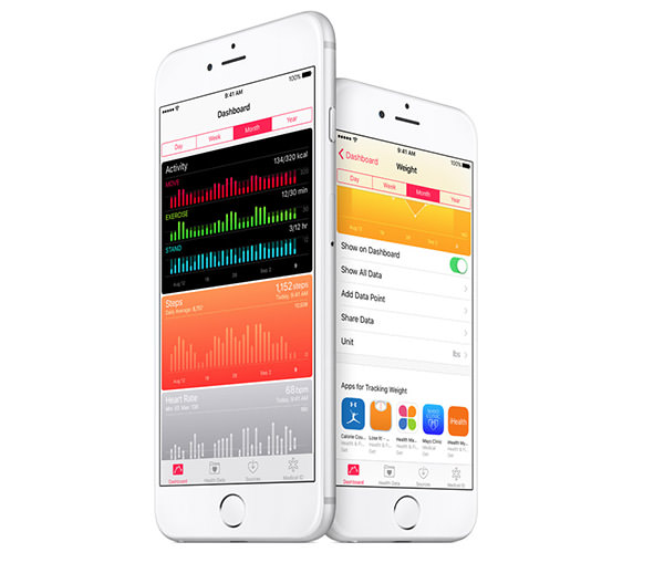 Health app improvements iOS 9.3 Features. Everything new in one place.