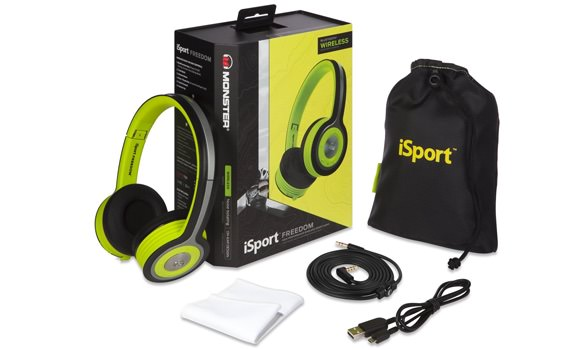 Monster iSport Freedom Best Over Ear Headphones Top 5 Best Workout Headphones (Early 2016)