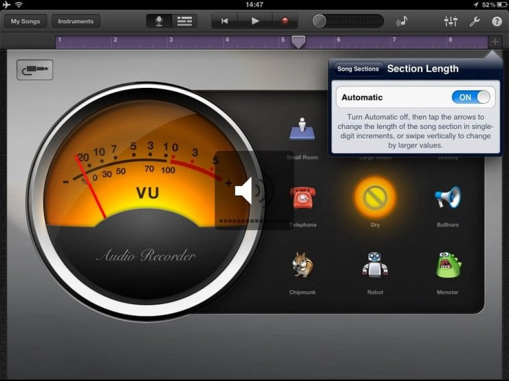 Garageband Increase Recording Time Step 3 How to increase the recording time in Garageband for iPad or iPhone