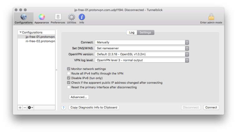 Screen Shot 2017 11 05 at 19.23.10 Setting up ProtonVPN on the free plan on your Mac