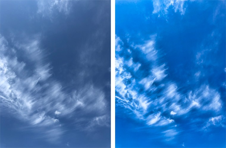 Sky BeforeAfter Luminar Flex (Luminar as a plug in) by Skylum Software